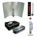 KIT 600W Digitální předřadník + Adjust-a-Wing + výbojka Superplant Super Red + NARVA 400W MH