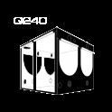 Homebox Evolution Q240 - 240x240x200