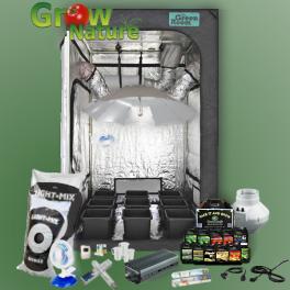 Kompletní pěstební box 600W - Pokročilý - Zemina