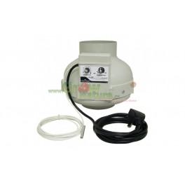 Ventilátor Prima Klima 125mm 400m3/h s regulací teploty a průtoku vzduchu