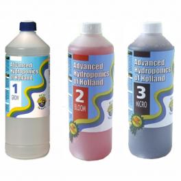 Advanced Hydroponics Dutch formula sada grow+bloom+micro