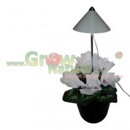 Parus iSun LED přisvícení pokojových rostlin - 7W - bílý